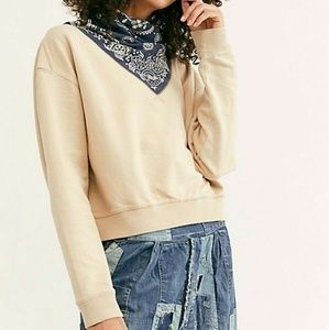 NWT Free People James Pullover